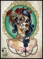 Day Of The Dead Girl by MissMisfit13