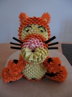 Tigger, front view by anjelicimp
