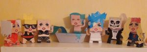 Lady Gaga Cubeecraft Collection by x0xChelseax0x