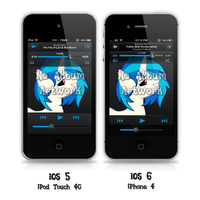Vinyl Scratch Music Player Theme by FozzyWig