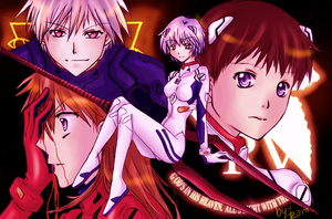 Evangelion : Children by iza-chan