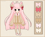 Adoptable- Alpaca [Sold] by PuffyPrincess