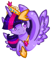 -Princess Twilight- by vanilla-button