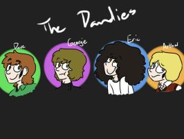 The Dandies (1/4) by psychedelic-weirdo