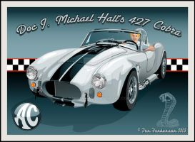 Doc Hall's AC Cobra by yankeedog