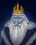 Adventure Time - Ice King by Rotaken