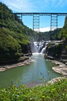 Letchworth State Park V by xDx