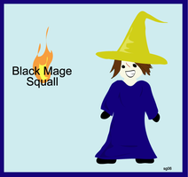 Black Mage Squall by angelrinoa