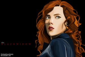 Scarlett Johansson|Black Widow- Vexel by thinkwithoutlimits