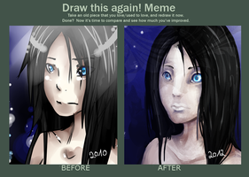 Draw This Again Meme by Szashaa