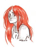 Red head by MaryBleis