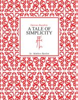 """A Tale of Simplicity """"cover"""" by Karbacca"""
