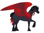 Commission | Design for FireBirdFalling by Queerly