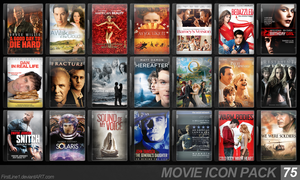 Movie Icon Pack 75 by FirstLine1