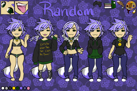 Character Ref Sheet by RandomZone