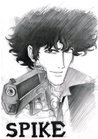 Spike Spiegel by Eshaerg