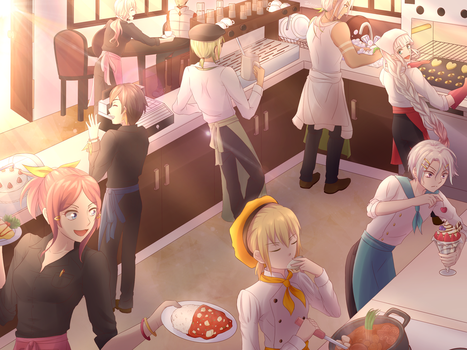 [ToK-ToZ] Welcome to Cafe Zesty!! by Tenkana