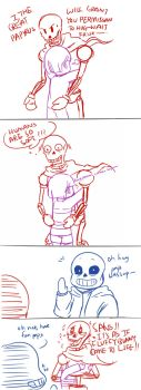 [Undertale] MORE PAPYRUS by RebeccaMetroStory