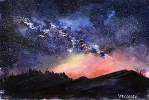 Night sky 2 by Vecordio