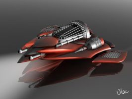 Racer Spaceship by VLAC