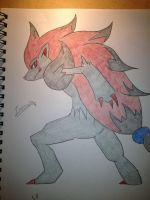 .::.Zoroark.::. by ThunderJess