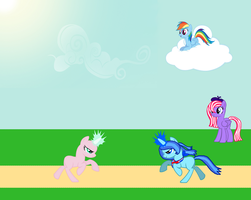 Fight With Londen Collab by potsy208