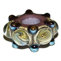 Iron Butterfly Charm Bead by copperrein