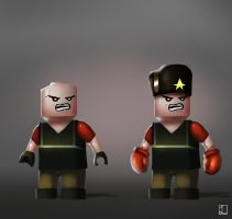 Lego Team Fortress 2- The Heavy by metalliam