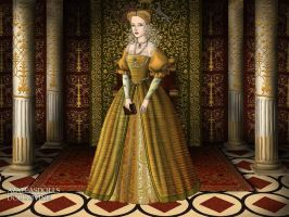 Queen Margot (Marguerite de Valois) by LadyBolena