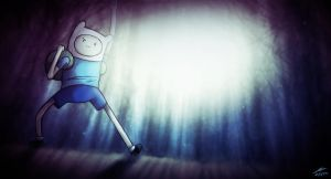Finn the Human Wallpaper by The-Spooky-Man