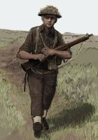 canadian rifleman- 1944 by JesusFood