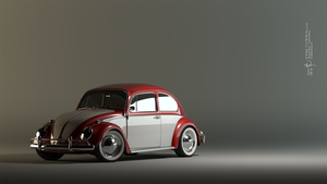 VW Bug 68' by PaulV3Design