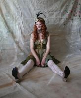 Green Rag Doll 6 by mizzd-stock