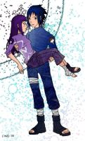 Sasuke and Hinata by starlight15