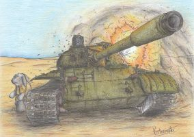 T-55 Tank by Patoriotto