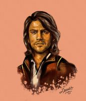 D_Artagnan The Musketeers by DevianEvil-91