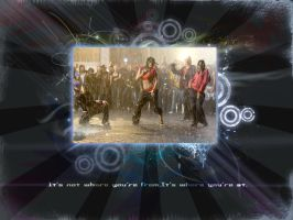 Step Up 2 Wallpaper by Rukkancs