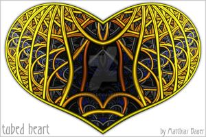 tubed heart by Raemed