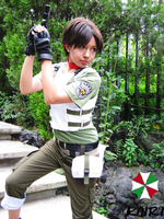 Rebecca Chambers Cosplay by AlexiaDeath10