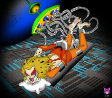 RETROPOST: Cheetarah Tickled by CheshireCaterling