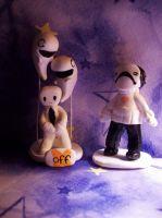 Off Figures by StrawberryParall