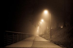 Night Walk Into The Mist by ONarrador