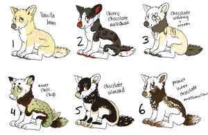 Dessert Doggies - Offer to Adopt [1] [CLOSED] by Railguns
