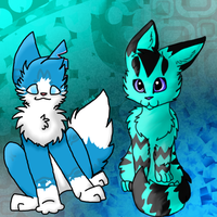 Blue Tabbies Collab by Gravitii-CS