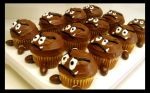 Sweets - Goomba Cakes by tomo-chi