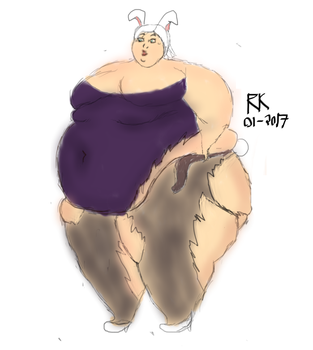 Riven Weight Gain Story (2/3) by Rikidy