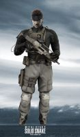 MG2 Solid Snake by GeorgeSears1972