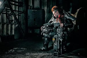 Brotherhood of steel T-45d (Fallout 3) by TheTass