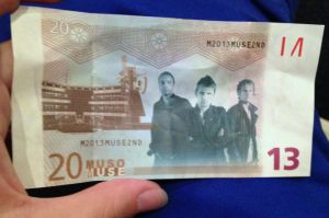 Muse Concert 13/12/13 - Muse Money by Necrophilliacness