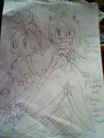 princess me and klonoa by keke18